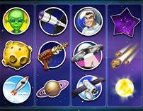 Slot machine iOS game grahics