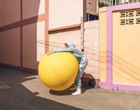 Big Yellow Balloon In Bangkok // personal work
