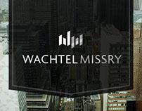 Wachtel Missry Visual Identity System