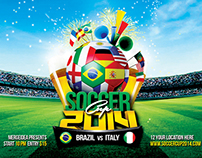 Soccer Cup 2014 Flyer