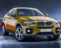 BMW X6 - 3d