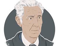 STEFANO RODOTA' portrait