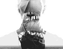 You set sail across the sea.