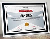Simple Multipurpose Certificate GD006