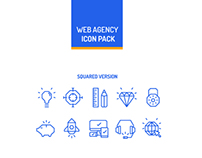 Web Agency Icon Pack | Free