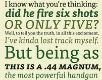FF Tisa • A Perfect Typeface for Magazines