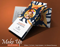 Makeup Brochure Template | Modern Design