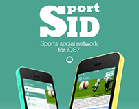 SportID (Free UI PSD)