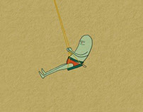 The swinging bean!