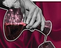 Magazine ad for D-wine.