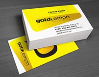 GoldLemon kommunikációs iroda arculat