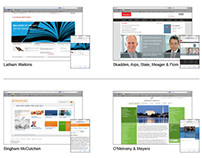 User Experience Assets for Law Firm Website Redesign