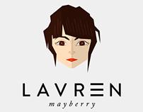 Lauren Mayberry - Flat Style Portrait