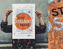 #STUFDSGNRSMAKE | Visual Identity of Event