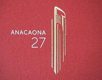Anacaona 27, logo design