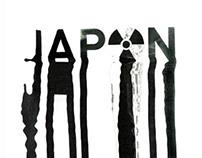 Japan 2011. Typographic posters.