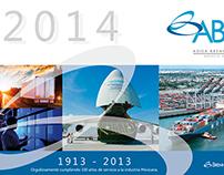 AByC 2014 diseño de calendario / wall calendar design