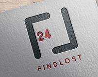 findlost24 branding