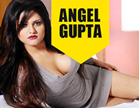 Angel Gupta Website Design