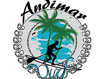 Project for Andimar Surf - Digital Art.