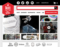 Skate Fire Shop - Site