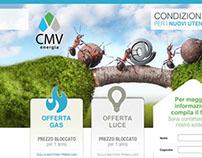 CMV - Landing Page