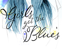 Girl's got the blue's