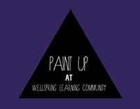 Paint Up at Wellspring Learning Community