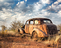 Photography - High Dynamic Range of an old car