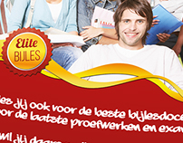 Elite Bijles flyer
