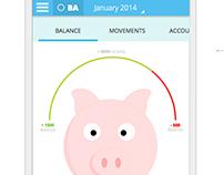 Homebanking App - Concept