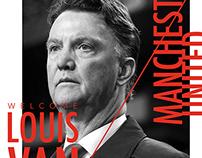 Louis Van Gaal Poster