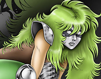 """""""Shaina"""" concept (Old work: Hand made, digital color)"""
