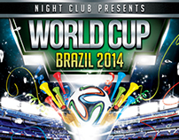 World Cup Brazil 2014 Flyer