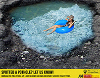 Report a Pothole Advertising Campaign