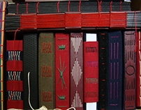 2010 / hand bound books