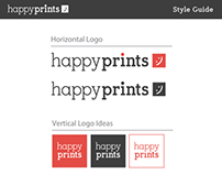 Logo Design: Happy Prints