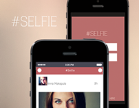 Application Design for photos - #Selfie