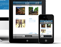 Responsive Webdesign along as well as App - Sappi MTB