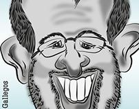 Caricatura - caricature - illustration - digital