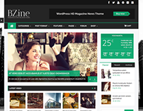Bzine - Wordpress Premium HD Magazine
