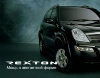 Ssang Yong Rexton TV commercial