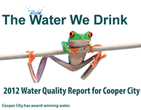 Cooper City, FL Water Works Info Campaign Poster Comp
