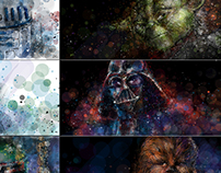 Star Wars Facebook Graffiti