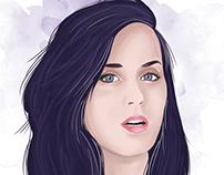 Katy Perry Digital Illustration