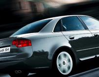 Audi S4 print