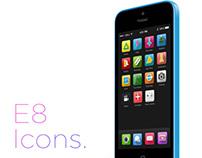 E8 icons