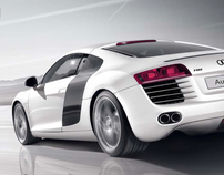 Audi R8 print campaign