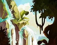 Social games illustration