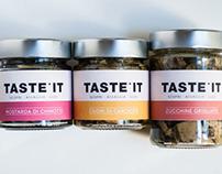 TASTEit - Brand Identity